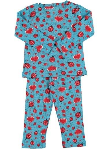Zeynep Tekstil Pijama Takım Mavi